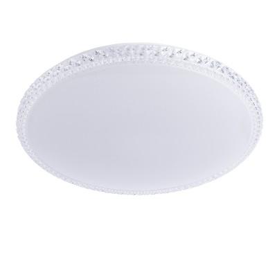 A5660PL-1WH Arte Lamp светильникКруглые<br><br><br>S освещ. до, м2: 24<br>Цветовая t, К: 3000-6000K<br>Тип лампы: LED<br>Тип цоколя: LED<br>Количество ламп: 1<br>Диаметр, мм мм: 560<br>Длина, мм: 560<br>Высота, мм: 80<br>MAX мощность ламп, Вт: 60W