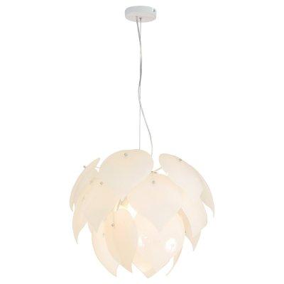 Светильник Arte lamp A5694SP-5WH PALMERПодвесные<br>Компания «Светодом» предлагает широкий ассортимент люстр от известных производителей. Представленные в нашем каталоге товары выполнены из современных материалов и обладают отличным качеством. Благодаря широкому ассортименту Вы сможете найти у нас люстру под любой интерьер. Мы предлагаем как классические варианты, так и современные модели, отличающиеся лаконичностью и простотой форм.  Стильная люстра Arte lamp A5694SP-5WH станет украшением любого дома. Эта модель от известного производителя не оставит равнодушным ценителей красивых и оригинальных предметов интерьера. Люстра Arte lamp A5694SP-5WH обеспечит равномерное распределение света по всей комнате. При выборе обратите внимание на характеристики, позволяющие приобрести наиболее подходящую модель. Купить понравившуюся люстру по доступной цене Вы можете в интернет-магазине «Светодом». Мы предлагаем доставку не только по Москве и Екатеринбурге, но и по всей России.<br><br>Установка на натяжной потолок: Да<br>S освещ. до, м2: 15<br>Крепление: Крюк<br>Тип цоколя: E27<br>Количество ламп: 5<br>MAX мощность ламп, Вт: 60<br>Диаметр, мм мм: 550<br>Высота, мм: 400<br>Цвет арматуры: белый