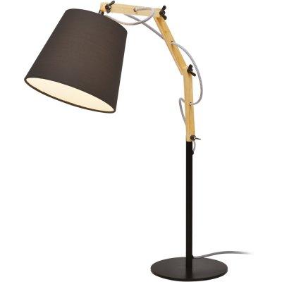 Светильник Arte lamp A5700LT-1BK PinoccioДеревянные и ротанг<br>Настольная лампа – это не просто источник дополнительного освещения, но и оригинальный элемент декора. Его можно установить в спальне, гостиной, кабинете и других комнатах. Интернет-магазин «Светодом» предлагает настольные лампы разных стилей по доступным ценам. Благодаря большому ассортименту Вы обязательно найдете в нашем каталоге именно ту модель, которую искали. <br> Настольная лампа Arte lamp A5700LT-1BK – прекрасный вариант для завершения интерьера. Ее можно включить одновременно с люстрой для более яркого освещения или без нее для создания уютной атмосферы, настраивающей на отдых. <br> Купить настольную лампу Arte lamp A5700LT-1BK Вы можете с помощью виртуальной «Корзины» или по контактным номерам, указанным на сайте.<br><br>Тип лампы: накаливания / энергосбережения / LED-светодиодная<br>Тип цоколя: E27<br>Ширина, мм: 200<br>MAX мощность ламп, Вт: 60<br>Длина, мм: 530<br>Высота, мм: 630<br>Цвет арматуры: черный