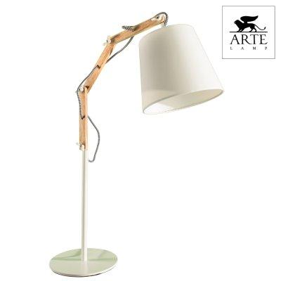 Интерьерная настольная лампа Arte lamp A5700LT-1WH Pinoccio фото