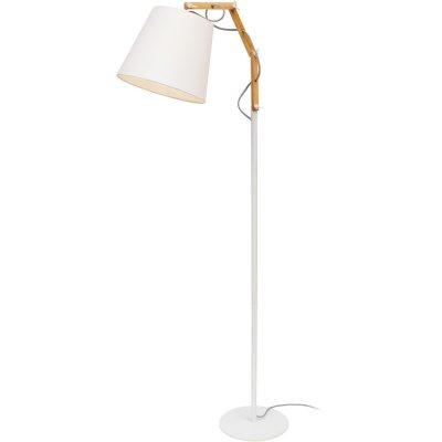 Торшер Arte lamp A5700PN-1WH PinoccioИз дерева<br>Торшер – это не просто функциональный предмет интерьера, позволяющий обеспечить дополнительное освещение, но и оригинальный декоративный элемент. Интернет-магазин «Светодом» предлагает стильные модели от известных производителей по доступным ценам. У нас Вы найдете и классические напольные светильники, и современные варианты.   Торшер A5700PN-1WH ARTELamp сразу же привлекает внимание благодаря своему необычному дизайну. Модель выполнена из качественных материалов, что обеспечит ее надежную и долговечную работу. Такой напольный светильник можно использовать для интерьера не только гостиной, но и спальни или кабинета.   Купить торшер A5700PN-1WH ARTELamp по выгодной стоимости Вы можете с помощью нашего сайта. У нас склады в Москве, Екатеринбурге, Санкт-Петербурге, Новосибирске и другим городам России.<br><br>S освещ. до, м2: 3<br>Тип лампы: накаливания / энергосбережения / LED-светодиодная<br>Тип цоколя: E27<br>Количество ламп: 1<br>Ширина, мм: 250<br>MAX мощность ламп, Вт: 60<br>Длина, мм: 650<br>Высота, мм: 1390<br>Оттенок (цвет): белый<br>Цвет арматуры: белый