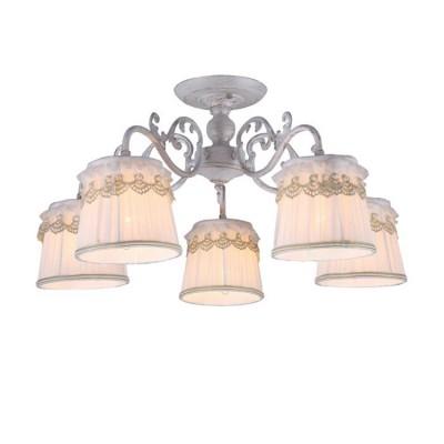 A5709PL-5WG Arte lamp СветильникПотолочные<br><br><br>Установка на натяжной потолок: Да<br>S освещ. до, м2: 10<br>Крепление: Планка<br>Тип лампы: Накаливания / энергосбережения / светодиодная<br>Тип цоколя: E14<br>Количество ламп: 5<br>MAX мощность ламп, Вт: 40W<br>Диаметр, мм мм: 610<br>Размеры: D610H300<br>Длина, мм: 610<br>Высота, мм: 300<br>Цвет арматуры: белый-ЗОЛОТОЙ<br>Общая мощность, Вт: 40W