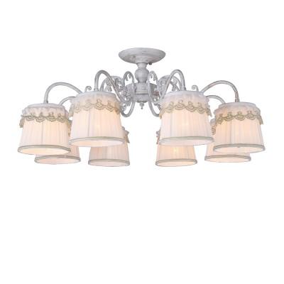 A5709PL-8WG Arte lamp СветильникПотолочные<br><br><br>Установка на натяжной потолок: Да<br>S освещ. до, м2: 16<br>Крепление: Планка<br>Тип лампы: Накаливания / энергосбережения / светодиодная<br>Тип цоколя: E14<br>Цвет арматуры: белый-ЗОЛОТОЙ<br>Количество ламп: 8<br>Диаметр, мм мм: 740<br>Размеры: D740H300<br>Длина, мм: 740<br>Высота, мм: 300<br>MAX мощность ламп, Вт: 40W<br>Общая мощность, Вт: 40W