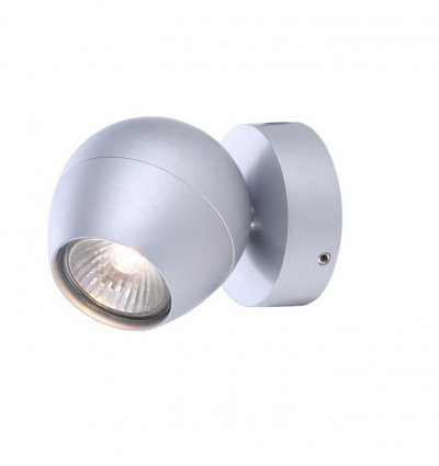 Светильник настенный бра Arte lamp A5781AP-1SS SFERAОдиночные<br>Светильники-споты – это оригинальные изделия с современным дизайном. Они позволяют не ограничивать свою фантазию при выборе освещения для интерьера. Такие модели обеспечивают достаточно качественный свет. Благодаря компактным размерам Вы можете использовать несколько спотов для одного помещения.  Интернет-магазин «Светодом» предлагает необычный светильник-спот ARTE Lamp A5781AP-1SS по привлекательной цене. Эта модель станет отличным дополнением к люстре, выполненной в том же стиле. Перед оформлением заказа изучите характеристики изделия.  Купить светильник-спот ARTE Lamp A5781AP-1SS в нашем онлайн-магазине Вы можете либо с помощью формы на сайте, либо по указанным выше телефонам. Обратите внимание, что у нас склады не только в Москве и Екатеринбурге, но и других городах России.<br><br>Тип цоколя: GU10<br>Количество ламп: 1<br>MAX мощность ламп, Вт: 50<br>Размеры: H12xW9xL9<br>Цвет арматуры: серебристый