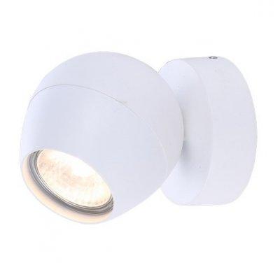 Светильник настенный бра Arte lamp A5781AP-1WH SFERAОдиночные<br>Светильники-споты – это оригинальные изделия с современным дизайном. Они позволяют не ограничивать свою фантазию при выборе освещения для интерьера. Такие модели обеспечивают достаточно качественный свет. Благодаря компактным размерам Вы можете использовать несколько спотов для одного помещения. <br>Интернет-магазин «Светодом» предлагает необычный светильник-спот ARTE Lamp A5781AP-1WH по привлекательной цене. Эта модель станет отличным дополнением к люстре, выполненной в том же стиле. Перед оформлением заказа изучите характеристики изделия. <br>Купить светильник-спот ARTE Lamp A5781AP-1WH в нашем онлайн-магазине Вы можете либо с помощью формы на сайте, либо по указанным выше телефонам. Обратите внимание, что у нас склады не только в Москве и Екатеринбурге, но и других городах России.<br><br>Тип цоколя: GU10<br>Количество ламп: 1<br>MAX мощность ламп, Вт: 50<br>Размеры: H12xW9xL9<br>Цвет арматуры: белый