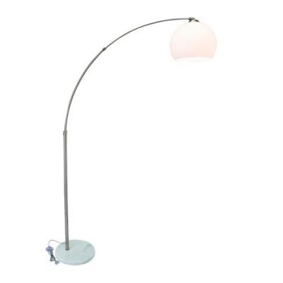 Светильник Arte lamp A5822PN-1SS GOLIATHМодерн<br>Торшер – это не просто функциональный предмет интерьера, позволяющий обеспечить дополнительное освещение, но и оригинальный декоративный элемент. Интернет-магазин «Светодом» предлагает стильные модели от известных производителей по доступным ценам. У нас Вы найдете и классические напольные светильники, и современные варианты.    Торшер A5822PN-1SS ARTELamp сразу же привлекает внимание благодаря своему необычному дизайну. Модель выполнена из качественных материалов, что обеспечит ее надежную и долговечную работу. Такой напольный светильник можно использовать для интерьера не только гостиной, но и спальни или кабинета.    Купить торшер A5822PN-1SS ARTELamp по выгодной стоимости Вы можете с помощью нашего сайта. Мы доставляем заказы по Москве, Екатеринбургу и другим городам России.<br><br>Тип лампы: Накаливания / энергосбережения / светодиодная<br>Тип цоколя: 60W<br>Количество ламп: 1<br>MAX мощность ламп, Вт: E27<br>Размеры: H170xW30xL100<br>Цвет арматуры: серебристый