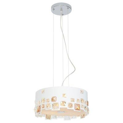 Светильник Arte lamp A5829SP-3WH PalmerПодвесные<br>Компания «Светодом» предлагает широкий ассортимент люстр от известных производителей. Представленные в нашем каталоге товары выполнены из современных материалов и обладают отличным качеством. Благодаря широкому ассортименту Вы сможете найти у нас люстру под любой интерьер. Мы предлагаем как классические варианты, так и современные модели, отличающиеся лаконичностью и простотой форм.   Стильная люстра Arte lamp A5829SP-3WH станет украшением любого дома. Эта модель от известного производителя не оставит равнодушным ценителей красивых и оригинальных предметов интерьера. Люстра Arte lamp A5829SP-3WH обеспечит равномерное распределение света по всей комнате. При выборе обратите внимание на характеристики, позволяющие приобрести наиболее подходящую модель.   Купить понравившуюся люстру по доступной цене Вы можете в интернет-магазине «Светодом».<br><br>Установка на натяжной потолок: Да<br>S освещ. до, м2: 9<br>Крепление: Планка<br>Тип цоколя: E27<br>Количество ламп: 3<br>MAX мощность ламп, Вт: 60<br>Диаметр, мм мм: 340<br>Высота, мм: 150<br>Цвет арматуры: серебристый хром