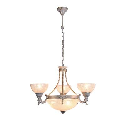 A5861LM-3-3WG Arte Lamp светильникПодвесные<br><br><br>Крепление: крюк<br>Тип лампы: Накаливания / энергосбережения / светодиодная<br>Тип цоколя: E27<br>Количество ламп: 6<br>Диаметр, мм мм: 620<br>Длина цепи/провода, мм: 600<br>Длина, мм: 620<br>Высота, мм: 440<br>MAX мощность ламп, Вт: 60W<br>Общая мощность, Вт: 60W