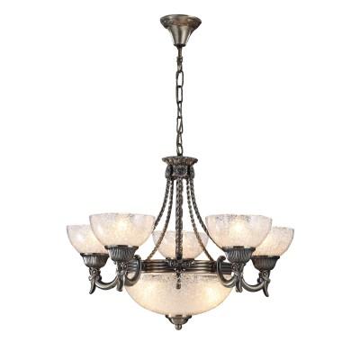 A5861LM-3-5AB Arte Lamp светильникПодвесные<br><br><br>Крепление: крюк<br>Тип лампы: Накаливания / энергосбережения / светодиодная<br>Тип цоколя: E27<br>Количество ламп: 8<br>Диаметр, мм мм: 620<br>Длина цепи/провода, мм: 600<br>Длина, мм: 620<br>Высота, мм: 460<br>MAX мощность ламп, Вт: 60W<br>Общая мощность, Вт: 60W