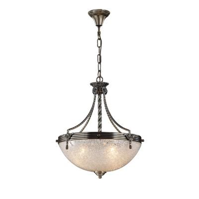 A5861SP-3AB Arte Lamp светильникПодвесные<br><br><br>Крепление: крюк<br>Тип лампы: Накаливания / энергосбережения / светодиодная<br>Тип цоколя: E27<br>Количество ламп: 3<br>Диаметр, мм мм: 420<br>Длина цепи/провода, мм: 600<br>Длина, мм: 420<br>Высота, мм: 440<br>MAX мощность ламп, Вт: 60W<br>Общая мощность, Вт: 60W