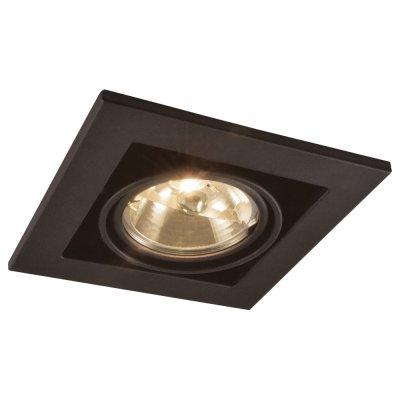 Светильник Arte lamp A5930PL-1BK TechnikaКарданные<br><br><br>S освещ. до, м2: 4<br>Тип товара: Светильник потолочный<br>Тип лампы: галогенная<br>Тип цоколя: G5.3<br>Количество ламп: 1<br>Ширина, мм: 145<br>MAX мощность ламп, Вт: 50<br>Диаметр, мм мм: 145<br>Диаметр врезного отверстия, мм: 125<br>Высота, мм: 120