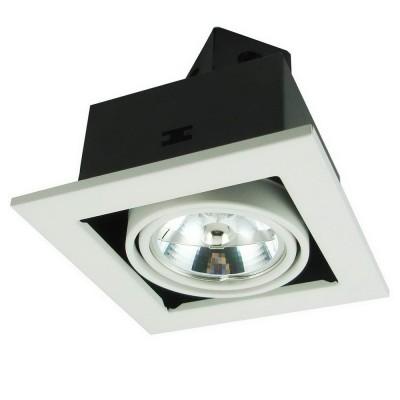 Светильник Arte lamp A5930PL-1WH TechnikaКарданные<br><br><br>S освещ. до, м2: 4<br>Тип лампы: галогенная<br>Тип цоколя: G5.3<br>Количество ламп: 1<br>Ширина, мм: 145<br>MAX мощность ламп, Вт: 50<br>Диаметр, мм мм: 145<br>Диаметр врезного отверстия, мм: 125<br>Высота, мм: 120