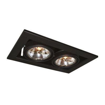 Светильник Arte lamp A5930PL-2BK TechnikaКарданные<br><br><br>Тип лампы: галогенная<br>Тип цоколя: G5.3<br>Количество ламп: 2<br>Ширина, мм: 145<br>MAX мощность ламп, Вт: 50<br>Диаметр врезного отверстия, мм: 125 х 220<br>Длина, мм: 250<br>Высота, мм: 100<br>Цвет арматуры: черный