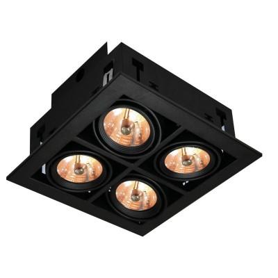 Светильник потолочный Arte lamp A5930PL-4BK TechnikaКарданные<br><br><br>Тип лампы: галогенная/LED<br>Тип цоколя: GU5.3<br>Цвет арматуры: черный<br>Количество ламп: 4<br>Ширина, мм: 260<br>Длина, мм: 260<br>Высота, мм: 120<br>MAX мощность ламп, Вт: 50