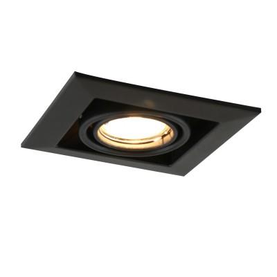 A5941PL-1BK Arte lamp СветильникКарданные<br><br><br>Тип лампы: галогенная/LED<br>Тип цоколя: GU10<br>Цвет арматуры: ЧЕРНЫЙ<br>Количество ламп: 1<br>Диаметр, мм мм: 130<br>Размеры: 20x20x14<br>Диаметр врезного отверстия, мм: 10,3x10,3<br>Длина, мм: 130<br>Высота, мм: 80<br>MAX мощность ламп, Вт: 50W