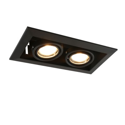 A5941PL-2BK Arte lamp СветильникКарданные<br><br><br>Тип лампы: галогенная/LED<br>Тип цоколя: GU10<br>Цвет арматуры: ЧЕРНЫЙ<br>Количество ламп: 2<br>Диаметр, мм мм: 130<br>Размеры: 23x13x8<br>Диаметр врезного отверстия, мм: 22,5x10,3<br>Длина, мм: 250<br>Высота, мм: 80<br>MAX мощность ламп, Вт: 50W