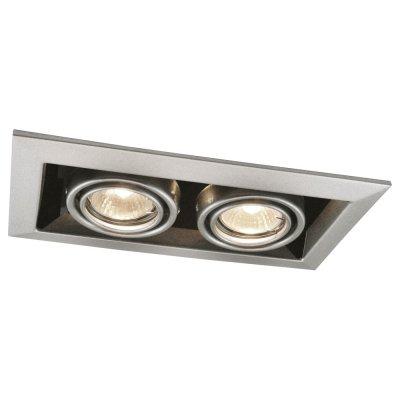 Светильник Arte lamp A5941PL-2SI TechnikaКарданные<br><br><br>S освещ. до, м2: 7<br>Тип лампы: галогенная<br>Тип цоколя: GU10<br>Количество ламп: 2<br>Ширина, мм: 126<br>MAX мощность ламп, Вт: 50<br>Диаметр, мм мм: 245<br>Диаметр врезного отверстия, мм: 225*103<br>Высота, мм: 80