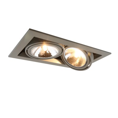 A5949PL-2GY Arte lamp СветильникКарданные<br><br><br>Тип лампы: галогенная/LED<br>Тип цоколя: G9<br>Цвет арматуры: СЕРЫЙ<br>Количество ламп: 2<br>Диаметр, мм мм: 200<br>Размеры: 20x20x14<br>Диаметр врезного отверстия, мм: 31x16<br>Длина, мм: 350<br>Высота, мм: 80<br>MAX мощность ламп, Вт: 40W
