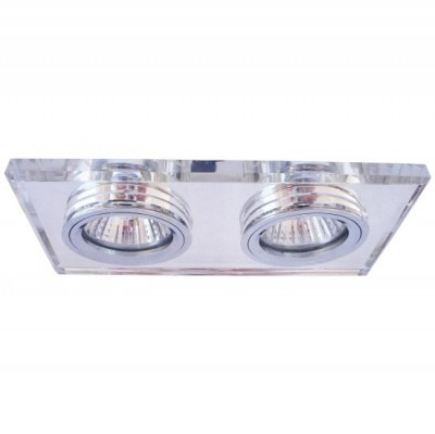 Светильник встраиваемый Arte lamp A5956PL-2CC Cool IceДлинные<br>Встраиваемые светильники – популярное осветительное оборудование, которое можно использовать в качестве основного источника или в дополнение к люстре. Они позволяют создать нужную атмосферу атмосферу и привнести в интерьер уют и комфорт. <br> Интернет-магазин «Светодом» предлагает стильный встраиваемый светильник ARTE Lamp A5956PL-2CC. Данная модель достаточно универсальна, поэтому подойдет практически под любой интерьер. Перед покупкой не забудьте ознакомиться с техническими параметрами, чтобы узнать тип цоколя, площадь освещения и другие важные характеристики. <br> Приобрести встраиваемый светильник ARTE Lamp A5956PL-2CC в нашем онлайн-магазине Вы можете либо с помощью «Корзины», либо по контактным номерам. Мы развозим заказы по Москве, Екатеринбургу и остальным российским городам.<br><br>S освещ. до, м2: 7<br>Тип лампы: галогенная<br>Тип цоколя: GU10<br>Количество ламп: 2<br>Ширина, мм: 170<br>MAX мощность ламп, Вт: 50<br>Диаметр, мм мм: 90<br>Размеры: H3,2xW9xL9<br>Диаметр врезного отверстия, мм: 155*68<br>Длина, мм: 170<br>Высота, мм: 110<br>Цвет арматуры: серебристый