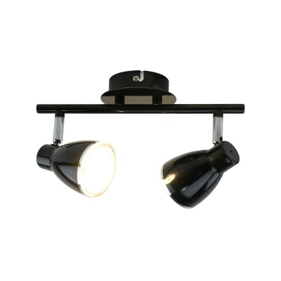 Купить Светильник потолочный Arte lamp A6008PL-2BK Gioved, ARTELamp