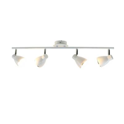 A6008PL-4WH Arte lamp СветильникС 4 лампами<br><br><br>Цветовая t, К: 3000K<br>Тип лампы: LED<br>Тип цоколя: LED<br>Цвет арматуры: БЕЛЫЙ<br>Количество ламп: 4<br>Диаметр, мм мм: 100<br>Размеры: 75x8x15<br>Длина, мм: 700<br>Высота, мм: 150<br>MAX мощность ламп, Вт: 5W<br>Общая мощность, Вт: 5W