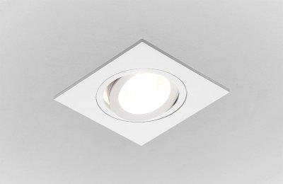 Точечный светильник Ambrella из алюминия Классика A601 WТочечные светильники квадратные<br>Встраиваемые светильники – популярное осветительное оборудование, которое можно использовать в качестве основного источника или в дополнение к люстре. Они позволяют создать нужную атмосферу атмосферу и привнести в интерьер уют и комфорт. <br> Интернет-магазин «Светодом» предлагает стильный встраиваемый светильник Ambrella A601 W. Данная модель достаточно универсальна, поэтому подойдет практически под любой интерьер. Перед покупкой не забудьте ознакомиться с техническими параметрами, чтобы узнать тип цоколя, площадь освещения и другие важные характеристики. <br> Приобрести встраиваемый светильник Ambrella A601 W в нашем онлайн-магазине Вы можете либо с помощью «Корзины», либо по контактным номерам. Мы развозим заказы по Москве, Екатеринбургу и остальным российским городам.<br><br>S освещ. до, м2: 2,5<br>Тип лампы: галогенная<br>Тип цоколя: GU5.3<br>Цвет арматуры: белый<br>Количество ламп: 1<br>Ширина, мм: 92<br>Диаметр врезного отверстия, мм: 75<br>Длина, мм: 92<br>Поверхность арматуры: глянцевая<br>Оттенок (цвет): белый<br>MAX мощность ламп, Вт: 50