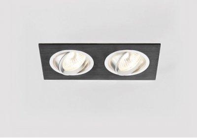 Купить Встраиваемый светильник Ambrella A601/2 BK, Россия