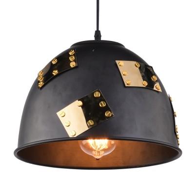 Светильник подвесной Arte lamp A6023SP-1BK EURICAодиночные подвесные светильники<br>Светильник подвесной Arte lamp A6023SP-1BK EURICA отличается регулировкой по высоте и сделает Ваш интерьер современным, стильным и запоминающимся! Наиболее функционально и эстетически привлекательно модель будет смотреться в гостиной, зале, холле или другой комнате. А в комплекте с люстрой, бра или торшером из этой же коллекции сделает ремонт по-дизайнерски профессиональным и законченным.