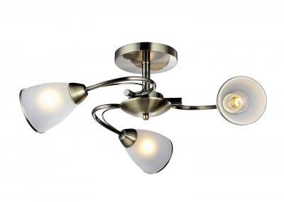 Светильник Arte lamp A6056PL-3AB INNOCENTEПотолочные<br>Компания «Светодом» предлагает широкий ассортимент люстр от известных производителей. Представленные в нашем каталоге товары выполнены из современных материалов и обладают отличным качеством. Благодаря широкому ассортименту Вы сможете найти у нас люстру под любой интерьер. Мы предлагаем как классические варианты, так и современные модели, отличающиеся лаконичностью и простотой форм.  Стильная люстра Arte lamp A6056PL-3AB станет украшением любого дома. Эта модель от известного производителя не оставит равнодушным ценителей красивых и оригинальных предметов интерьера. Люстра Arte lamp A6056PL-3AB обеспечит равномерное распределение света по всей комнате. При выборе обратите внимание на характеристики, позволяющие приобрести наиболее подходящую модель. Купить понравившуюся люстру по доступной цене Вы можете в интернет-магазине «Светодом».<br><br>Установка на натяжной потолок: Да<br>S освещ. до, м2: 9<br>Крепление: Планка<br>Тип лампы: Накаливания / энергосбережения / светодиодная<br>Тип цоколя: E14<br>Цвет арматуры: бронзовый<br>Количество ламп: 3<br>Диаметр, мм мм: 570<br>Размеры: H24xW57xL57<br>Высота, мм: 240<br>MAX мощность ламп, Вт: 60