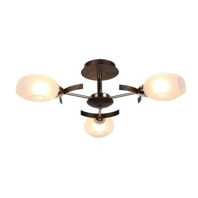Люстра Arte lamp A6094PL-3BA CamillaПотолочные<br>Отличную модель светильника Arte lamp A6094PL-3BA из серии CAMILA производства Италии возможно купить оптом и в розницу на официальном сайте интернет-магазина Светодом.<br><br>Установка на натяжной потолок: Ограничено<br>S освещ. до, м2: 8<br>Крепление: Планка<br>Тип лампы: накаливания / энергосбережения / LED-светодиодная<br>Тип цоколя: E14<br>Количество ламп: 3<br>MAX мощность ламп, Вт: 40<br>Диаметр, мм мм: 650<br>Высота, мм: 190<br>Цвет арматуры: античный черный