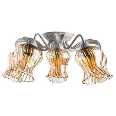 Светильник Arte lamp A6098PL-6WG CHIARAПотолочные<br>Компания «Светодом» предлагает широкий ассортимент люстр от известных производителей. Представленные в нашем каталоге товары выполнены из современных материалов и обладают отличным качеством. Благодаря широкому ассортименту Вы сможете найти у нас люстру под любой интерьер. Мы предлагаем как классические варианты, так и современные модели, отличающиеся лаконичностью и простотой форм.  Стильная люстра Arte lamp A6098PL-6WG станет украшением любого дома. Эта модель от известного производителя не оставит равнодушным ценителей красивых и оригинальных предметов интерьера. Люстра Arte lamp A6098PL-6WG обеспечит равномерное распределение света по всей комнате. При выборе обратите внимание на характеристики, позволяющие приобрести наиболее подходящую модель. Купить понравившуюся люстру по доступной цене Вы можете в интернет-магазине «Светодом».<br><br>Установка на натяжной потолок: Да<br>S освещ. до, м2: 12<br>Крепление: Планка<br>Тип лампы: Накаливания / энергосбережения / светодиодная<br>Тип цоколя: E14<br>Цвет арматуры: белый с золотистой патиной<br>Количество ламп: 6<br>Диаметр, мм мм: 600<br>Размеры: H21xW60xL60<br>Высота, мм: 210<br>MAX мощность ламп, Вт: 40