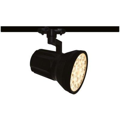Светильник трековый светодиодный Arte lamp A6118PL-1BK Track lightsСветильники для трека<br><br><br>Цветовая t, К: 3000<br>Тип лампы: LED<br>MAX мощность ламп, Вт: 18<br>Длина, мм: 112<br>Высота, мм: 250<br>Цвет арматуры: черный