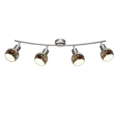 A6125PL-4SS Arte lamp СветильникС 4 лампами<br><br><br>Тип цоколя: E14<br>Цвет арматуры: Серебристый матовый<br>Количество ламп: 4<br>Диаметр, мм мм: 100<br>Длина, мм: 720<br>Высота, мм: 220<br>MAX мощность ламп, Вт: 40W<br>Общая мощность, Вт: 40W