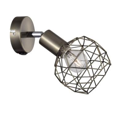A6141AP-1AB Arte lamp СветильникЛофт<br><br><br>Тип цоколя: E14<br>Цвет арматуры: античный бронзовый<br>Количество ламп: 1<br>Диаметр, мм мм: 180<br>Длина, мм: 90<br>Высота, мм: 200<br>MAX мощность ламп, Вт: 40W<br>Общая мощность, Вт: 40W