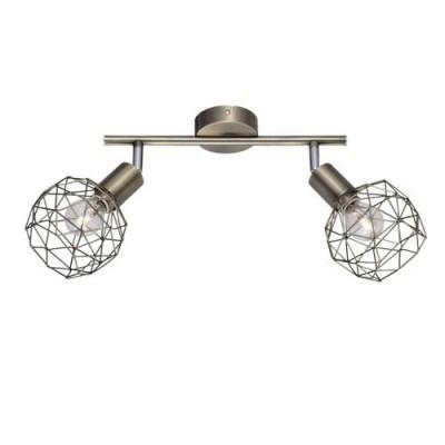 Светильник настенный Arte lamp A6141AP-2AB Sospiroдвойные светильники споты<br><br><br>S освещ. до, м2: 4<br>Тип цоколя: E14<br>Цвет арматуры: античный бронзовый<br>Количество ламп: 2<br>Диаметр, мм мм: 180<br>Длина, мм: 330<br>Высота, мм: 200<br>MAX мощность ламп, Вт: 40W<br>Общая мощность, Вт: 40W