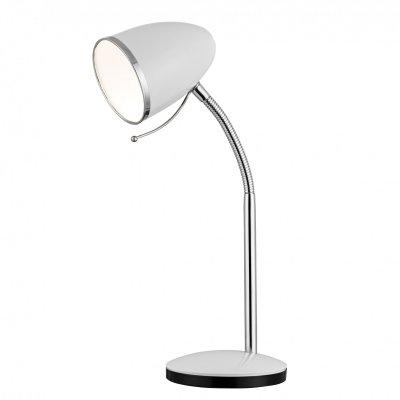 Интерьерная настольная лампа Arte lamp A6145LT-1WH CosyОфисные<br>Настольная лампа – это не просто источник дополнительного освещения, но и оригинальный элемент декора. Его можно установить в спальне, гостиной, кабинете и других комнатах. Интернет-магазин «Светодом» предлагает настольные лампы разных стилей по доступным ценам. Благодаря большому ассортименту Вы обязательно найдете в нашем каталоге именно ту модель, которую искали. <br> Настольная лампа Arte lamp A6145LT-1WH – прекрасный вариант для завершения интерьера. Ее можно включить одновременно с люстрой для более яркого освещения или без нее для создания уютной атмосферы, настраивающей на отдых. <br> Купить настольную лампу Arte lamp A6145LT-1WH Вы можете с помощью виртуальной «Корзины» или по контактным номерам, указанным на сайте.<br><br>S освещ. до, м2: 2<br>Тип лампы: накаливания<br>Тип цоколя: E27<br>Цвет арматуры: белый<br>Количество ламп: 1<br>Диаметр, мм мм: 970<br>Высота, мм: 440<br>Оттенок (цвет): белый<br>MAX мощность ламп, Вт: 40