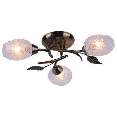 Люстра Arte lamp A6157PL-3AB AnettaПотолочные<br>Отличную модель светильника Arte lamp A6157PL-3AB из серии ANETTA производства Италии возможно купить оптом и в розницу на официальном сайте интернет-магазина Светодом.<br><br>Установка на натяжной потолок: Ограничено<br>S освещ. до, м2: 12<br>Крепление: Планка<br>Тип лампы: накаливания / энергосбережения / LED-светодиодная<br>Тип цоколя: E14<br>Цвет арматуры: бронзовый<br>Количество ламп: 3<br>Диаметр, мм мм: 520<br>Высота, мм: 120<br>MAX мощность ламп, Вт: 60