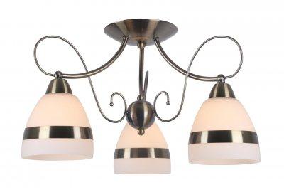 Светильник потолочный Arte lamp A6192PL-3AB NOEMIПотолочные<br>Компания «Светодом» предлагает широкий ассортимент люстр от известных производителей. Представленные в нашем каталоге товары выполнены из современных материалов и обладают отличным качеством. Благодаря широкому ассортименту Вы сможете найти у нас люстру под любой интерьер. Мы предлагаем как классические варианты, так и современные модели, отличающиеся лаконичностью и простотой форм.  Стильная люстра Arte lamp A6192PL-3AB станет украшением любого дома. Эта модель от известного производителя не оставит равнодушным ценителей красивых и оригинальных предметов интерьера. Люстра Arte lamp A6192PL-3AB обеспечит равномерное распределение света по всей комнате. При выборе обратите внимание на характеристики, позволяющие приобрести наиболее подходящую модель. Купить понравившуюся люстру по доступной цене Вы можете в интернет-магазине «Светодом».<br><br>Установка на натяжной потолок: Да<br>S освещ. до, м2: 6<br>Крепление: Планка<br>Тип лампы: Накаливания / энергосбережения / светодиодная<br>Тип цоколя: E14<br>Цвет арматуры: бронзовый<br>Количество ламп: 3<br>Диаметр, мм мм: 530<br>Размеры: H28xW53xL53<br>Высота, мм: 280<br>MAX мощность ламп, Вт: 40