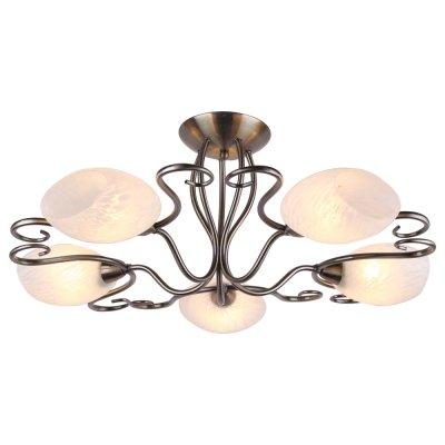 Люстра Arte lamp A6200PL-5AB ZettaПотолочные<br>Отличную модель светильника Arte lamp A6200PL-5AB из серии ZETTA производства Италии возможно купить оптом и в розницу на официальном сайте интернет-магазина Светодом.<br><br>Установка на натяжной потолок: Да<br>S освещ. до, м2: 20<br>Крепление: Планка<br>Тип лампы: накаливания / энергосбережения / LED-светодиодная<br>Тип цоколя: E14<br>Цвет арматуры: бронзовый<br>Количество ламп: 5<br>Диаметр, мм мм: 65<br>Высота, мм: 26<br>MAX мощность ламп, Вт: 60