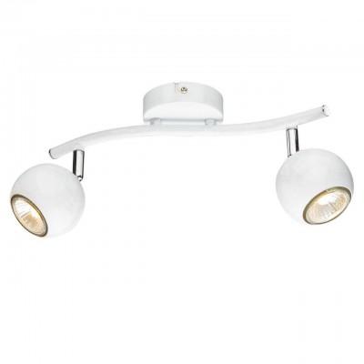 Светильник потолочный Arte lamp A6251PL-2WH PIATTOДвойные<br>Светильники-споты – это оригинальные изделия с современным дизайном. Они позволяют не ограничивать свою фантазию при выборе освещения для интерьера. Такие модели обеспечивают достаточно качественный свет. Благодаря компактным размерам Вы можете использовать несколько спотов для одного помещения.  Интернет-магазин «Светодом» предлагает необычный светильник-спот ARTE Lamp A6251PL-2WH по привлекательной цене. Эта модель станет отличным дополнением к люстре, выполненной в том же стиле. Перед оформлением заказа изучите характеристики изделия.  Купить светильник-спот ARTE Lamp A6251PL-2WH в нашем онлайн-магазине Вы можете либо с помощью формы на сайте, либо по указанным выше телефонам. Обратите внимание, что у нас склады не только в Москве и Екатеринбурге, но и других городах России.<br><br>Тип цоколя: GU10<br>Количество ламп: 2<br>MAX мощность ламп, Вт: 50<br>Размеры: H16xW9xL37<br>Цвет арматуры: белый