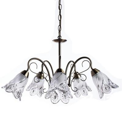 Светильник Arte lamp A6273LM-5AB FIORITAПодвесные<br>Компания «Светодом» предлагает широкий ассортимент люстр от известных производителей. Представленные в нашем каталоге товары выполнены из современных материалов и обладают отличным качеством. Благодаря широкому ассортименту Вы сможете найти у нас люстру под любой интерьер. Мы предлагаем как классические варианты, так и современные модели, отличающиеся лаконичностью и простотой форм.  Стильная люстра Arte lamp A6273LM-5AB станет украшением любого дома. Эта модель от известного производителя не оставит равнодушным ценителей красивых и оригинальных предметов интерьера. Люстра Arte lamp A6273LM-5AB обеспечит равномерное распределение света по всей комнате. При выборе обратите внимание на характеристики, позволяющие приобрести наиболее подходящую модель. Купить понравившуюся люстру по доступной цене Вы можете в интернет-магазине «Светодом». Мы предлагаем доставку не только по Москве и Екатеринбурге, но и по всей России.<br><br>Установка на натяжной потолок: Да<br>S освещ. до, м2: 15<br>Крепление: Крюк<br>Тип лампы: Накаливания / энергосбережения / светодиодная<br>Тип цоколя: E14<br>Количество ламп: 5<br>MAX мощность ламп, Вт: 60<br>Размеры: H30xW60xL60+шн/цп30<br>Цвет арматуры: бронзовый