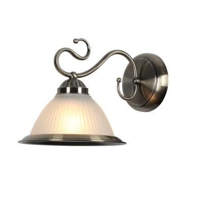 Светильник настенный Arte lamp A6276AP-1AB Costanzaклассические бра<br><br><br>Тип цоколя: E27<br>Цвет арматуры: античный бронзовый<br>Количество ламп: 1<br>Диаметр, мм мм: 200<br>Размеры: L290*W190*H200mm<br>Длина, мм: 300<br>Высота, мм: 200<br>MAX мощность ламп, Вт: 60W<br>Общая мощность, Вт: 40W