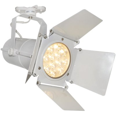 Светильник трековый Arte lamp A6312PL-1WH Track lightsСветильники для трека<br><br><br>Тип лампы: LED<br>Цвет арматуры: белый<br>Длина, мм: 142<br>Высота, мм: 320<br>MAX мощность ламп, Вт: 12