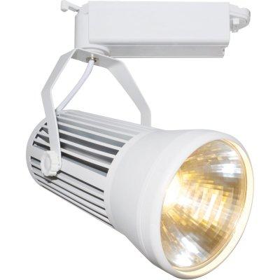 Светильник для трека Arte lamp A6330PL-1WH Track lightsСветильники для трека<br><br><br>Цветовая t, К: 3000<br>Тип лампы: LED<br>Цвет арматуры: белый<br>Длина, мм: 100<br>Высота, мм: 216<br>MAX мощность ламп, Вт: 30