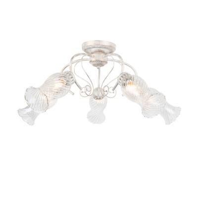 Светильник Arte lamp A6335PL-5WG Gemmaсовременные потолочные люстры модерн<br>Компания «Светодом» предлагает широкий ассортимент люстр от известных производителей. Представленные в нашем каталоге товары выполнены из современных материалов и обладают отличным качеством. Благодаря широкому ассортименту Вы сможете найти у нас люстру под любой интерьер. Мы предлагаем как классические варианты, так и современные модели, отличающиеся лаконичностью и простотой форм. <br>Стильная люстра Arte lamp A6335PL-5WG станет украшением любого дома. Эта модель от известного производителя не оставит равнодушным ценителей красивых и оригинальных предметов интерьера. Люстра Arte lamp A6335PL-5WG обеспечит равномерное распределение света по всей комнате. При выборе обратите внимание на характеристики, позволяющие приобрести наиболее подходящую модель. <br>Купить понравившуюся люстру по доступной цене Вы можете в интернет-магазине «Светодом».<br><br>Установка на натяжной потолок: Да<br>S освещ. до, м2: 10<br>Крепление: Планка<br>Тип лампы: накал-я - энергосбер-я<br>Тип цоколя: E14<br>Цвет арматуры: белый с золотистой патиной<br>Количество ламп: 5<br>Диаметр, мм мм: 780<br>Высота, мм: 330<br>MAX мощность ламп, Вт: 40