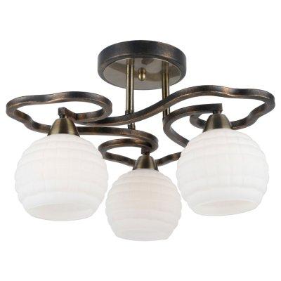 Светильник Arte lamp A6379PL-3GA LanaПотолочные<br>Компания «Светодом» предлагает широкий ассортимент люстр от известных производителей. Представленные в нашем каталоге товары выполнены из современных материалов и обладают отличным качеством. Благодаря широкому ассортименту Вы сможете найти у нас люстру под любой интерьер. Мы предлагаем как классические варианты, так и современные модели, отличающиеся лаконичностью и простотой форм.  Стильная люстра Arte lamp A6379PL-3GA станет украшением любого дома. Эта модель от известного производителя не оставит равнодушным ценителей красивых и оригинальных предметов интерьера. Люстра Arte lamp A6379PL-3GA обеспечит равномерное распределение света по всей комнате. При выборе обратите внимание на характеристики, позволяющие приобрести наиболее подходящую модель. Купить понравившуюся люстру по доступной цене Вы можете в интернет-магазине «Светодом».<br><br>Установка на натяжной потолок: Да<br>S освещ. до, м2: 6<br>Крепление: Планка<br>Тип лампы: Накаливания / энергосбережения / светодиодная<br>Тип цоколя: E14<br>Цвет арматуры: черный<br>Количество ламп: 3<br>Диаметр, мм мм: 460<br>Высота, мм: 270<br>MAX мощность ламп, Вт: 40