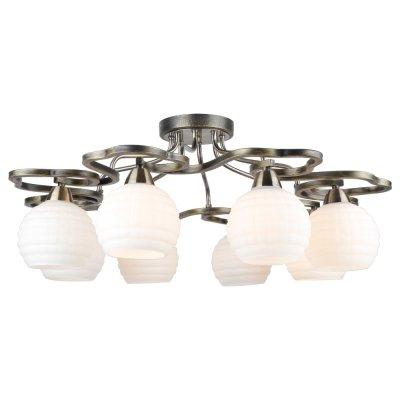 Светильник Arte lamp A6379PL-8GA LanaПотолочные<br>Компания «Светодом» предлагает широкий ассортимент люстр от известных производителей. Представленные в нашем каталоге товары выполнены из современных материалов и обладают отличным качеством. Благодаря широкому ассортименту Вы сможете найти у нас люстру под любой интерьер. Мы предлагаем как классические варианты, так и современные модели, отличающиеся лаконичностью и простотой форм.  Стильная люстра Arte lamp A6379PL-8GA станет украшением любого дома. Эта модель от известного производителя не оставит равнодушным ценителей красивых и оригинальных предметов интерьера. Люстра Arte lamp A6379PL-8GA обеспечит равномерное распределение света по всей комнате. При выборе обратите внимание на характеристики, позволяющие приобрести наиболее подходящую модель. Купить понравившуюся люстру по доступной цене Вы можете в интернет-магазине «Светодом».<br><br>Установка на натяжной потолок: Да<br>S освещ. до, м2: 16<br>Крепление: Планка<br>Тип лампы: Накаливания / энергосбережения / светодиодная<br>Тип цоколя: E14<br>Цвет арматуры: черный<br>Количество ламп: 8<br>Диаметр, мм мм: 740<br>Высота, мм: 290<br>MAX мощность ламп, Вт: 40
