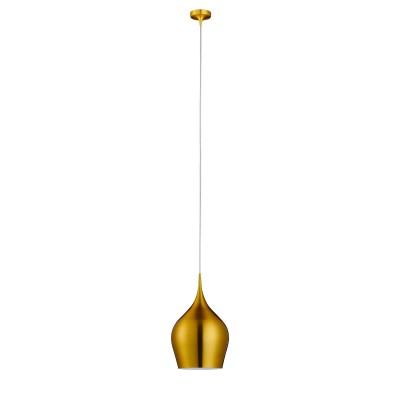 Светильник Arte lamp A6426SP-1GO VibrantОдиночные<br><br><br>Скидка, %: 10<br>Тип лампы: накаливания / энергосбережения / LED-светодиодная<br>Тип цоколя: E14<br>Количество ламп: 1<br>MAX мощность ламп, Вт: 60<br>Диаметр, мм мм: 260<br>Высота, мм: 440<br>Цвет арматуры: золотой