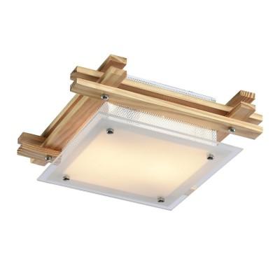 Светильник потолочный Arte lamp A6460PL-2BR ARCHIMEDEквадратные светильники<br><br><br>Установка на натяжной потолок: Ограничено<br>S освещ. до, м2: 6<br>Крепление: Планка<br>Тип лампы: Накаливания / энергосбережения / светодиодная<br>Тип цоколя: E14<br>Цвет арматуры: коричневый<br>Количество ламп: 2<br>Ширина, мм: 300<br>Размеры: H9xW30xL30<br>Длина, мм: 300<br>Высота, мм: 90<br>MAX мощность ламп, Вт: 60