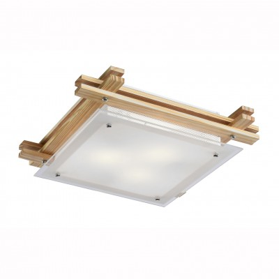 Светильник потолочный Arte lamp A6460PL-3BR ARCHIMEDEВосточный стиль<br><br><br>Установка на натяжной потолок: Ограничено<br>S освещ. до, м2: 9<br>Крепление: Планка<br>Тип товара: Светильник потолочный<br>Тип лампы: Накаливания / энергосбережения / светодиодная<br>Тип цоколя: E14<br>Количество ламп: 3<br>MAX мощность ламп, Вт: 60<br>Размеры: H9xW40xL40<br>Цвет арматуры: коричневый